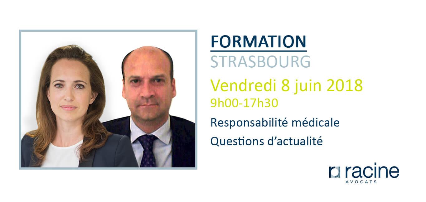Formation Assurance responsabilité médicale Strasbourg