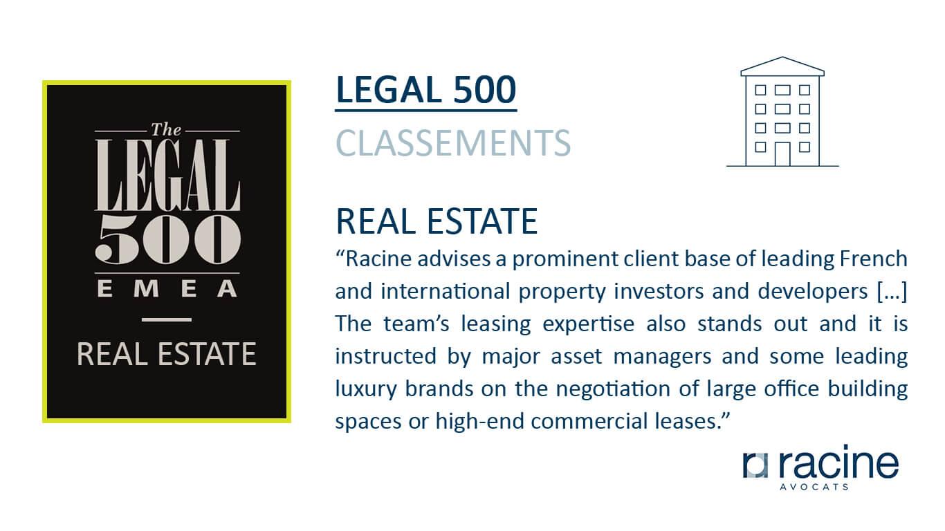legal 500 - Immo et Construction