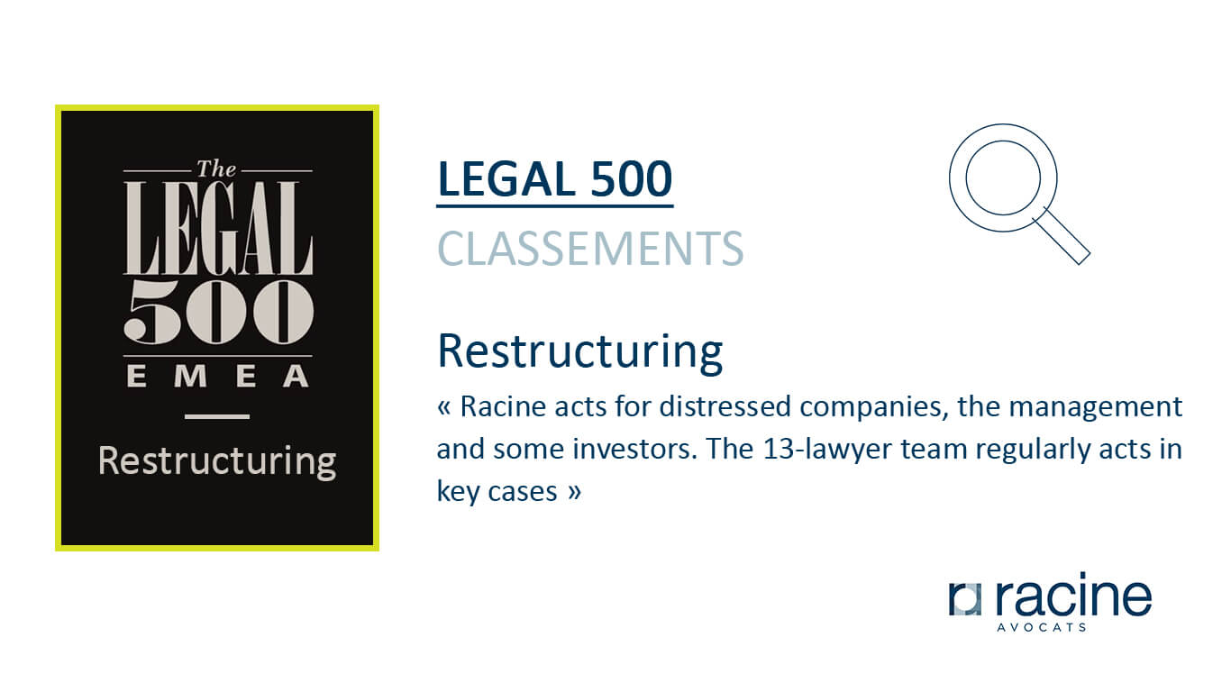 legal 500 - Restructuring