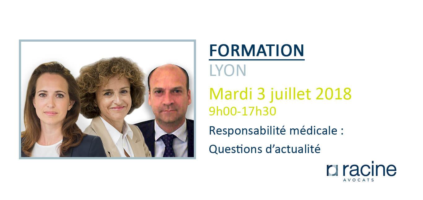 Formation Assurance responsabilité médicale Lyon copie