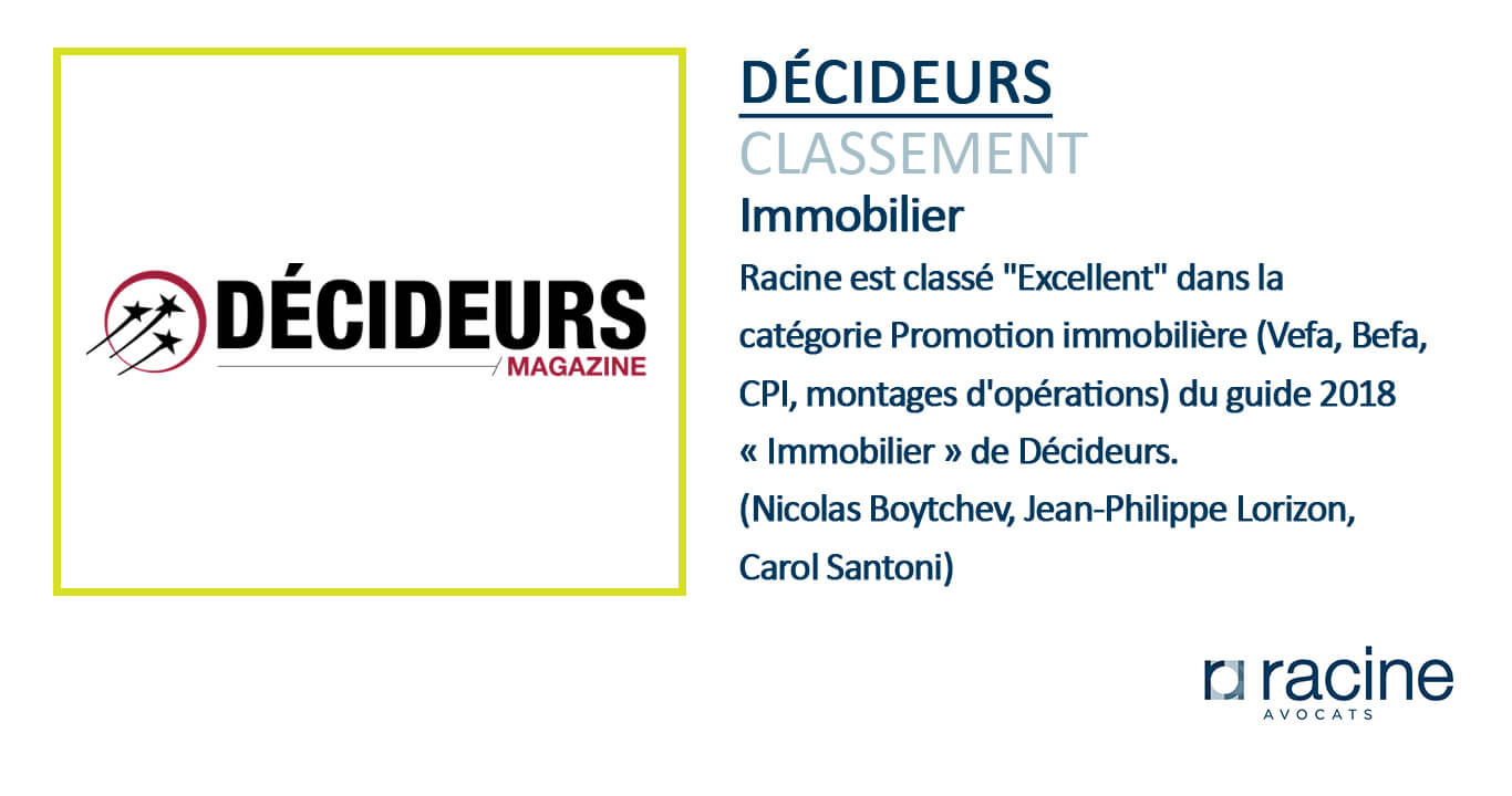 Classement sites immobiliers 2018